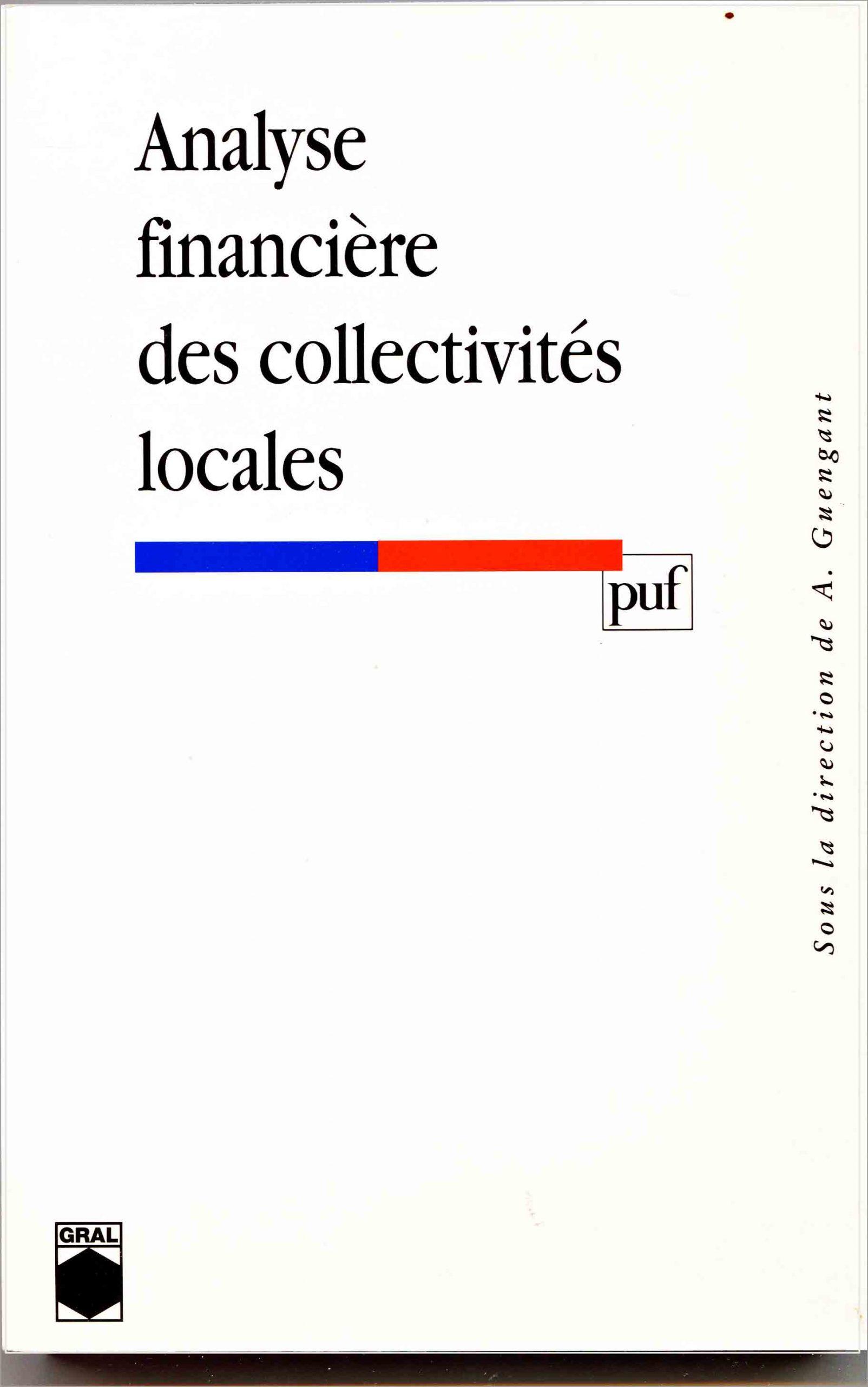 Analyse financière des collectivités locales