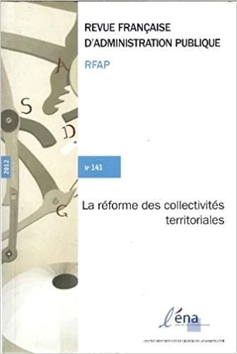 Réforme des collectivités territoriales (La)