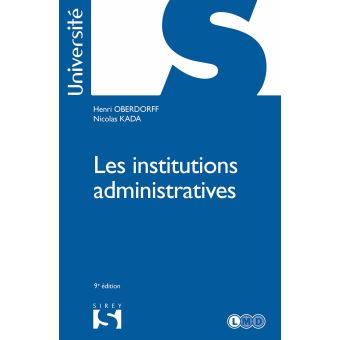 Institutions administratives (Les)