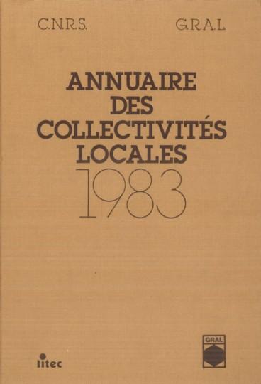 Annuaire des collectivités locales 1983