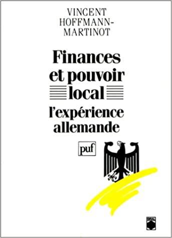 Finances et pouvoir local, l'expérience allemande