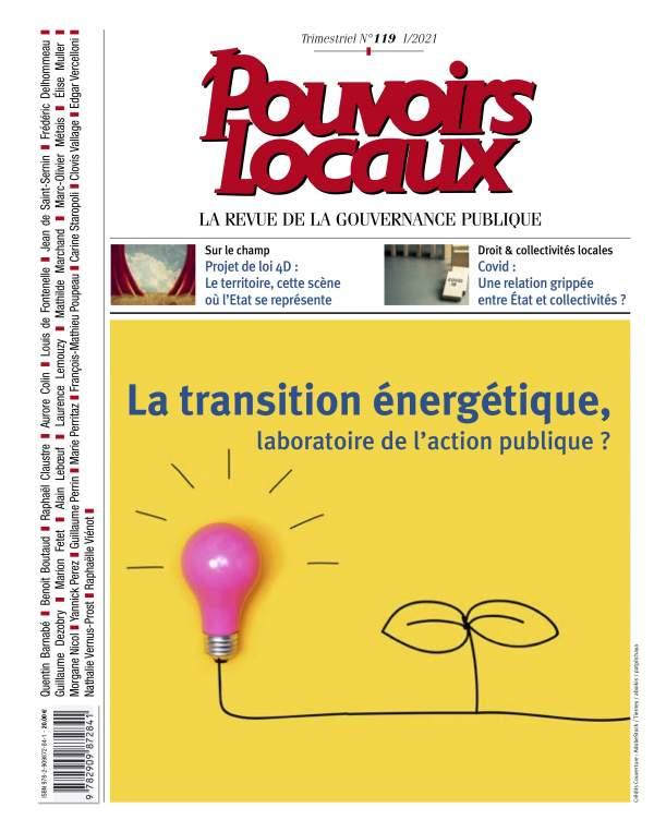 La transition énergétique, laboratoire de l'action publique ?